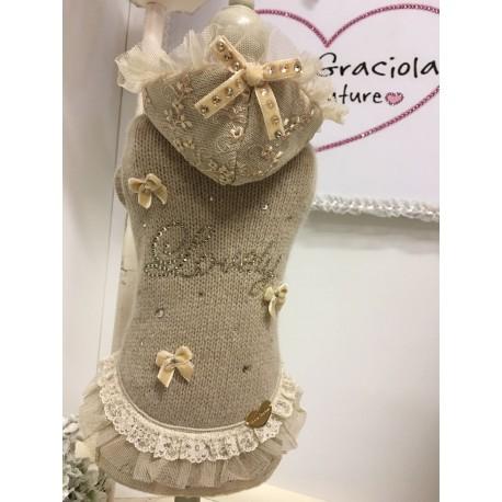 Lovely Hood in Lace Dress