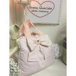 Mon Amour De Luxe Bag Light Pink Impermeabile