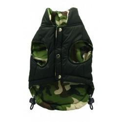 Black Camo Reversible Vest