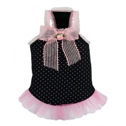 Pink Bow Tulle Tank