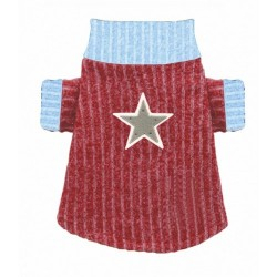 Scarlet Star Turtleneck