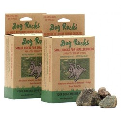 Dog Rocks 100gm 100% naturale salva il tuo prato dalle bruciature causate dall'urina
