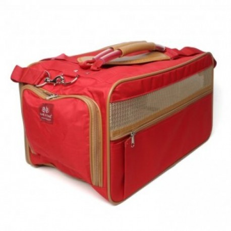Classic Carrier Red Nylon