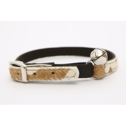 Dogue Collare Gatto Pony Hair Cat Collar Cow