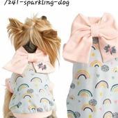 Rainbow Collection PE2021 - Sparkling Dog 🎀 #sparkling #sparklingdog #tshirtdog #rainbow #sweatshirtdog #cane #pet #love #primavera #estate #abbigliamentocane #altamodacane